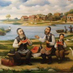 19 - Boris Shapiro_ water-melon - 76x61cm