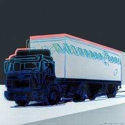 Andy-Warhol_-Truck_-Silkscreen-print_-1985_-100x100cm