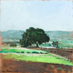 Elie Shamir, Untitled, 2012, Oil on canvas, mounted on wood, 40 x 40 cm
