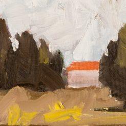 Iddo Markus, oil on wood, 10x15x3 cm