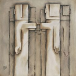 Inbal Buzaglo Yoresh_ Oil on Canvas - 115 x 110 cm - 57