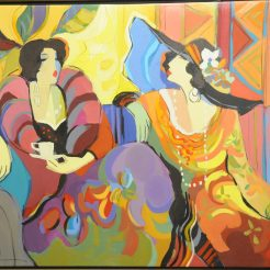 Isaac-Maimon_-Evening_-Acrylic-on-Canvas---90-x-121-cm