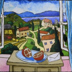 Jonathan Kis-Lev, Oil on Canvas - 87 x 94 cm - 5