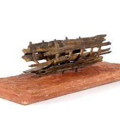 Manuel Álvarez Losada_ Ship_ Bronze - 9 x 11x 28 cm - 2C