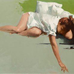 Misha Rapoport, oil on canvas, 85x55 cm SITE