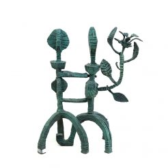 Naftali Bezem_ Couple_ bronze with green patina- 77 x 60 x 30cm - 1A