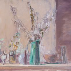 Ofer Lellouche_ Still life_ Oil on Canvas_ 53x100 cm