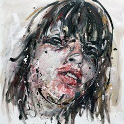 Philippe Pasqua, Theresa, 2016, Oil on Canvas, 180x160 cm.