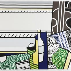 Roy Lichtenstein, Still Life With Crystal Bowl, 1976 ,96 x 125 cm.