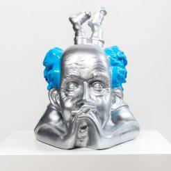Yuval-Mahler_-Ben-Gurion_--10A-Paint-on-Fibreglass_H38xW30XD30-cm